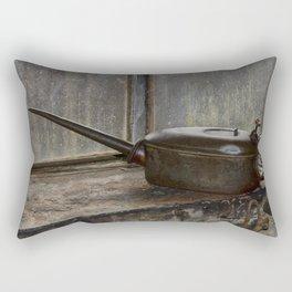 Antique oil can Rectangular Pillow