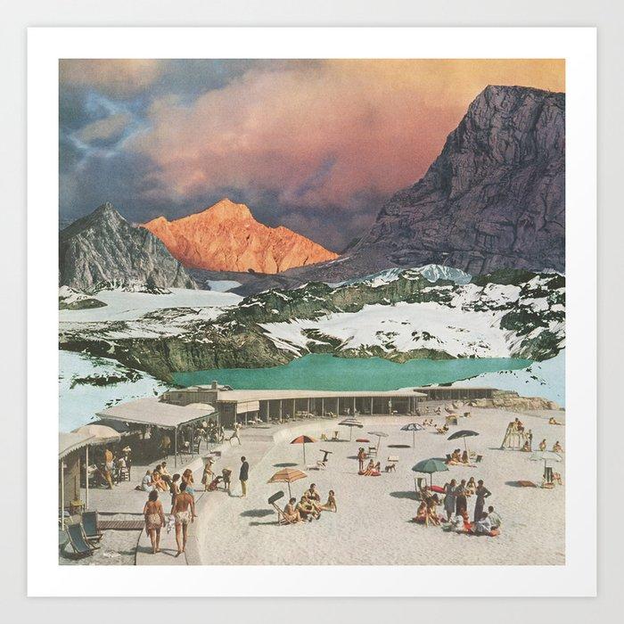 Jade Lake Resort Kunstdrucke