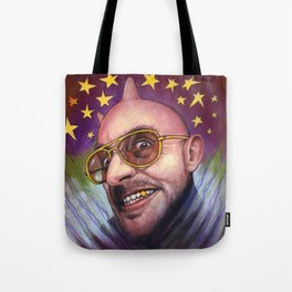 Portrait - The Devil Will Make You See Stars Tote Bag
