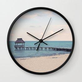 Balanced Beach Wall Clock