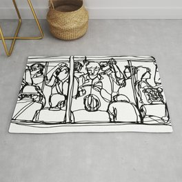 Commuters Rug