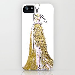 Glitter Gala iPhone Case