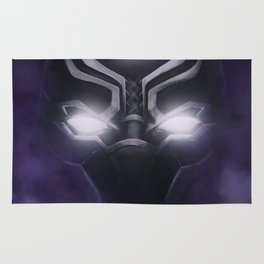 Black Panther - Cowl Portrait Rug