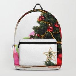 Holiday Christmas Christmas Ornaments Christmas Tr Backpack