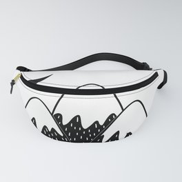 moon fairy Fanny Pack