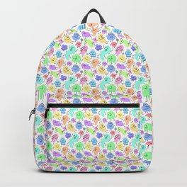 Watercolor People Backpack