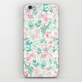 Flirt Mint Blush iPhone Skin
