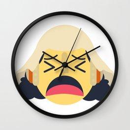 Usopp Emoji Design Wall Clock
