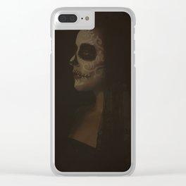 Calavera Clear iPhone Case