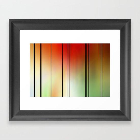 Light spectrum. Framed Art Print