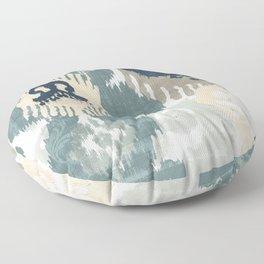 Beach Curry II Floor Pillow