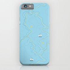 Sailing for the treasure Slim Case iPhone 6s