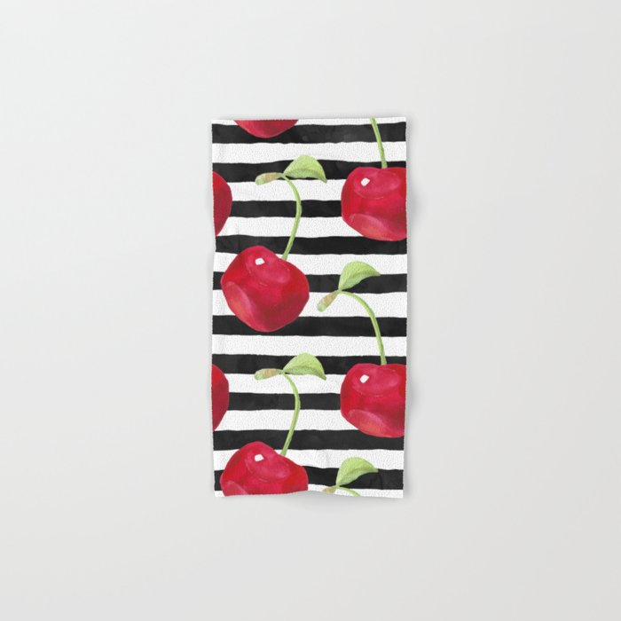 Cherry pattern Hand & Bath Towel