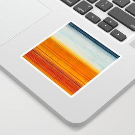 Yellowstone Orange Sticker