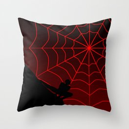 Spider Twilight Series - Miles Morales Spider-Man Throw Pillow