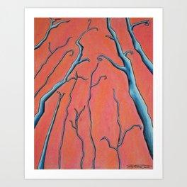 Red Maria Art Print