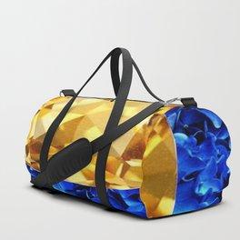 LARGE CHAMPAGNE TOPAZ GEM SEPTEMBER BIRTHSTONE ART Duffle Bag