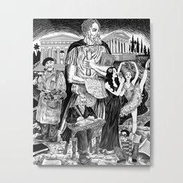 Ego Metal Print