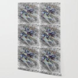 Artistic Animal Doves Wallpaper