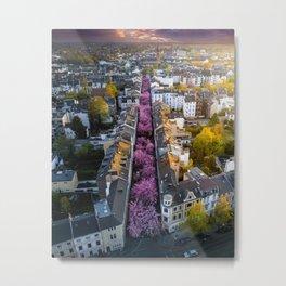 Colorful Street Metal Print