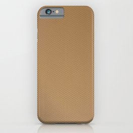 Nylon Stocking Mesh Grid iPhone Case