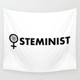 Steminist with symbol Wall Tapestry