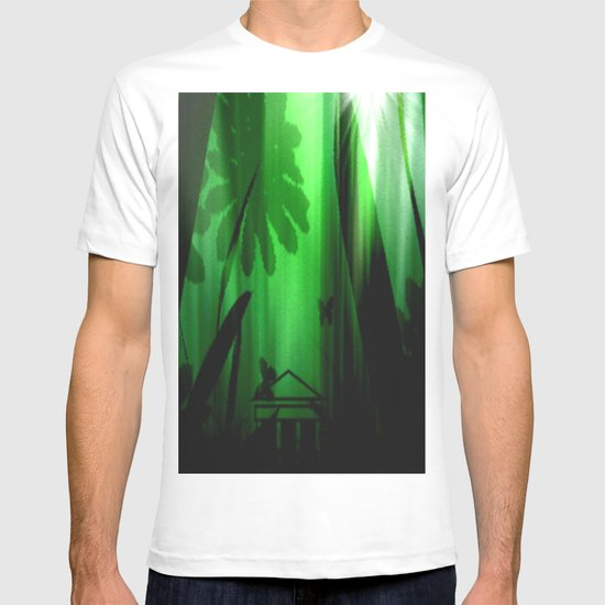 Deep in the rain forest. T-shirt