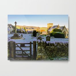 Beauty beyond the Gate  Metal Print