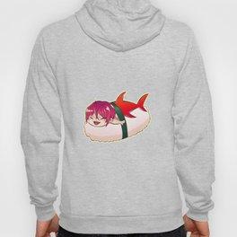 Chibi Shark Sushi Hoody