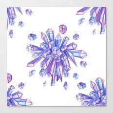 Zero Gravity Crystals II Canvas Print