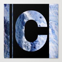 Monogram C Canvas Print