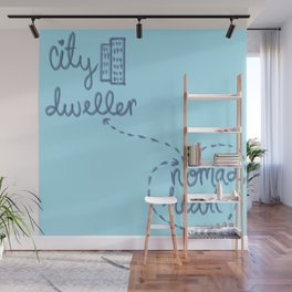 City Dweller / Nomad Heart Wall Mural