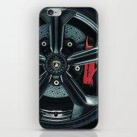 lamborghini iPhone & iPod Skins featuring Lamborghini Sesto Elemento  by Spyck