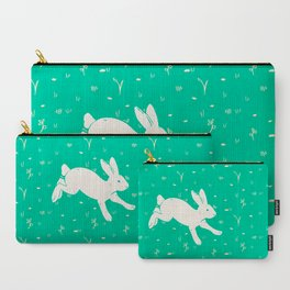 Running Bunny Carry-All Pouch