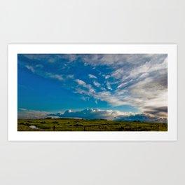 Clouds VII Art Print