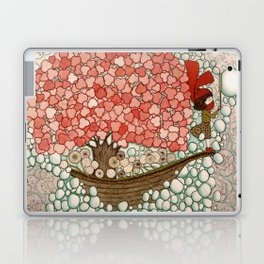 Bubble Waves Laptop & iPad Skin