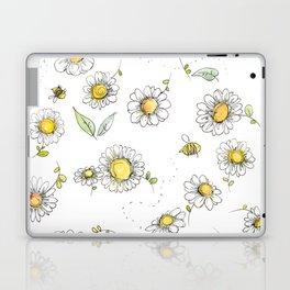 Bees and Daisies Laptop & iPad Skin