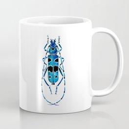 Beetle 09 blue Coffee Mug