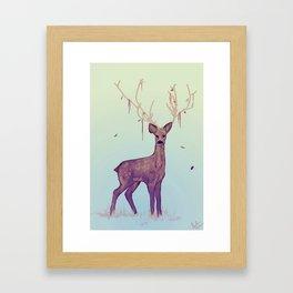 deer 6 Framed Art Print