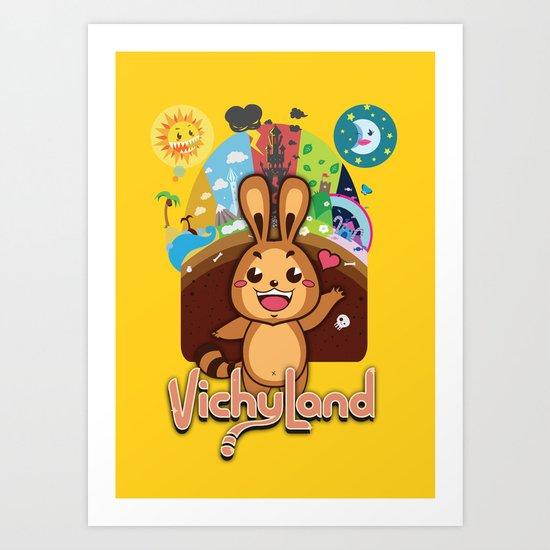 VichyLand Art Print
