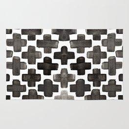 Black & White Crosses - Katrina Niswander Rug