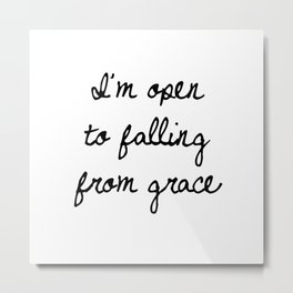 Falling From Grace Metal Print