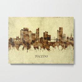 Toledo Ohio Cityscape Metal Print
