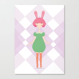 the bunny Canvas Print