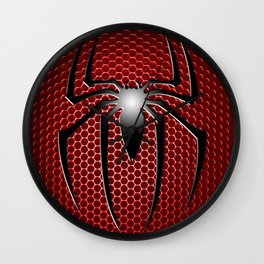 RED SPIDER Wall Clock
