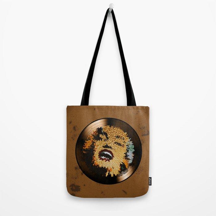 Vinyl No.4 Tote Bag