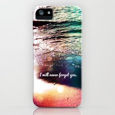 I will never forget you - for iphone Slim Case iPhone (5, 5s)