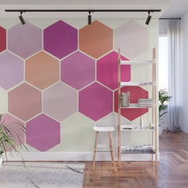 Shades of Pink Wall Mural