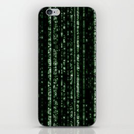 Streaming Mathematical Array iPhone Skin