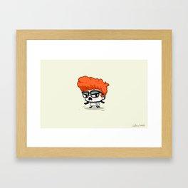 The Scientist Framed Art Print